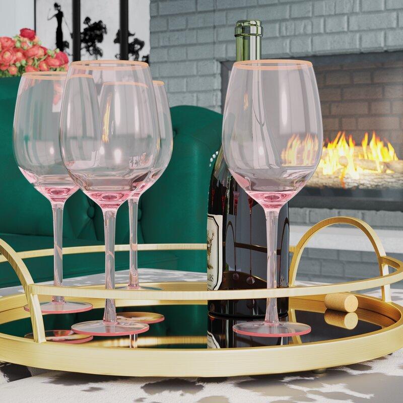 House Of Hampton Morena 14 Oz White Wine Glass Reviews Wayfair