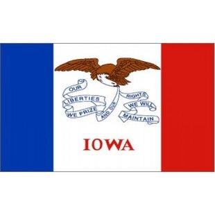 Iowa Traditional Flag By NeoPlex