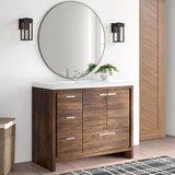Selina Free Standing Modern 42 Single Bathroom Vanity Set by AllModern