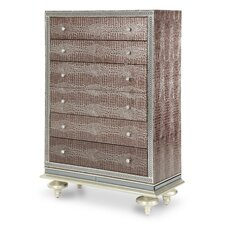 Hollywood Swank 4 Drawer Chest by Michael Amini (AICO)
