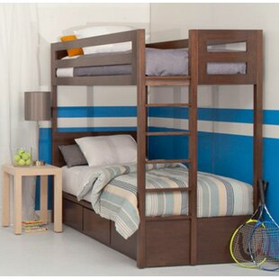 Shopping for Kadon Twin over Twin Bunk Bed with Storage by Orren Ellis Reviews (2019) & Buyer's Guide