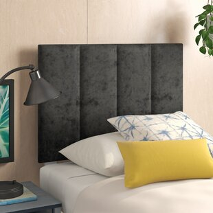Ernestine Crushed Velvet Upholstered Headboard By Zipcode Design