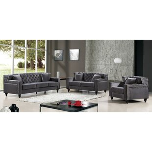 Willa Arlo Interiors Honore Configurable Living Room Set