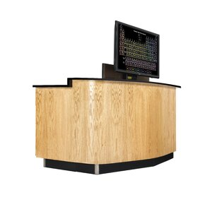 Versacurve Executive Desk by Diversified Woodcrafts