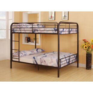 Lauier Metal Full over Full Bunk Bed