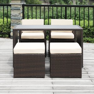 Lisa 5 Piece Seating Group with Cushion
