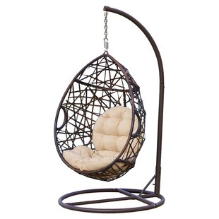 Strange Anner Tear Drop Swing Chair With Stand Onthecornerstone Fun Painted Chair Ideas Images Onthecornerstoneorg