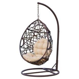 Strange Anner Tear Drop Swing Chair With Stand Inzonedesignstudio Interior Chair Design Inzonedesignstudiocom