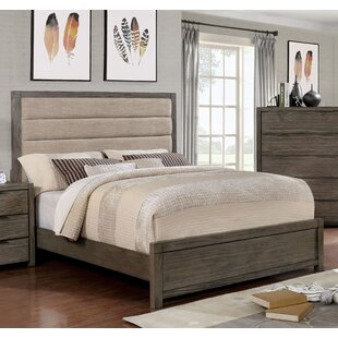 Gracie Oaks Weidler Upholstered Panel Headboard