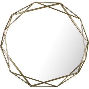 Brayden Studio Lurmont Metal Plain Accent Mirror