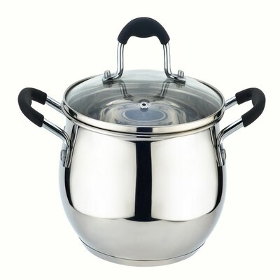 American Dream 3 Qt. Stainless Steel Whistling Stovetop Kettle American Dream