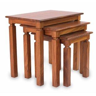 Novica 3 Piece Nesting Tables