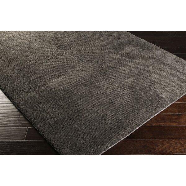 Red Barrel Studio Tully Handwoven Wool Charcoal Area Rug Wayfair