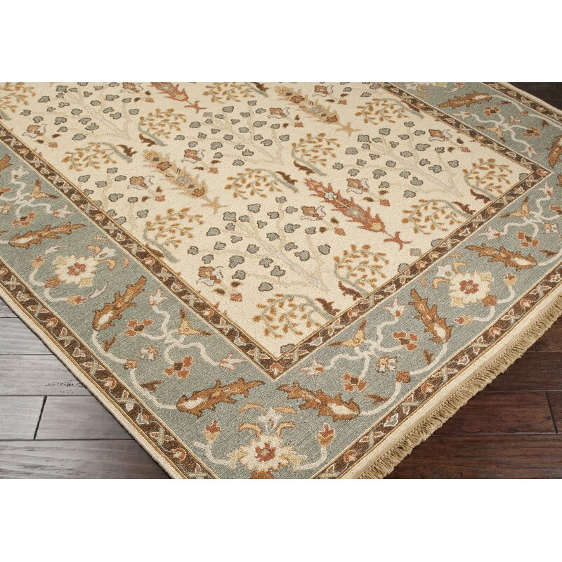 Surya Sonoma Oriental Hand Knotted Wool Beige Gray Area Rug Perigold