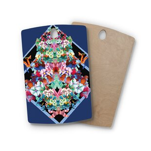 Danii Pollehn Birchwood Herz Floral Cutting Board By East Urban Home