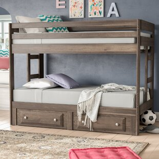 Great deal Malina Twin over Twin Bunk Bed By Viv + Rae