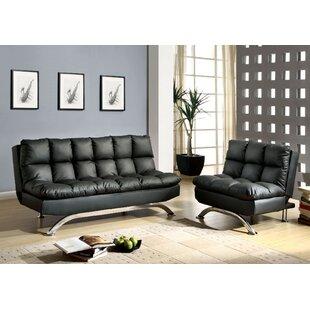 Orren Ellis Jorgensen Sleeper 2 Piece Living Room Set