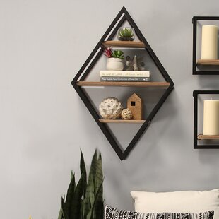 Vachel Diamond Wall Shelf