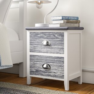 Worcester 2 Drawer Bedside Table (Set Of 2) By Beachcrest Home