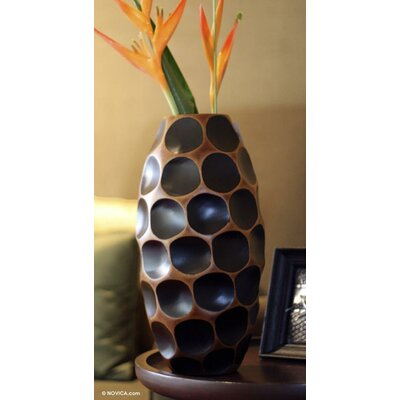 Bloomsbury Market Bloomsbury Market Sideling Hill Table Vase Cmnu8104 Size 15 2 H X 7 5 W X 6 5 D From Wayfair Shefinds