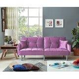 Lavender Velvet Sofa Wayfair Ca