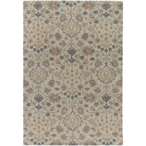 Alden Hand-Tufted Light Gray Area Rug