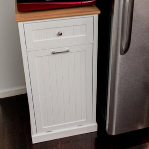 Microwave Kitchen Cart by CORNER HOUSEWARES
