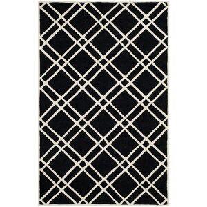Martins Black/Ivory Area Rug