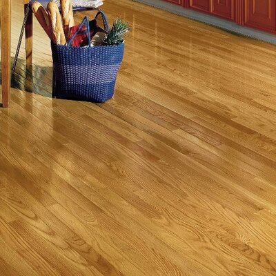 "Dundee 2-1/4"" Solid Oak Hardwood Flooring Bruce Flooring Finish: Spice"
