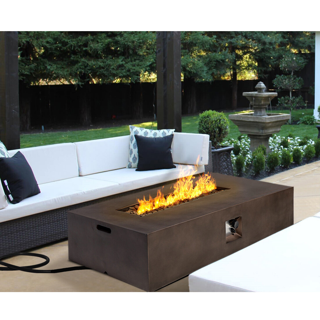 Propane Rectangular Fire Pits You Ll Love In 2021 Wayfair