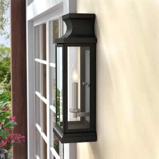 Andover Mills Brinton 1-Light Outdoor Flush mount
