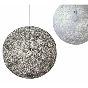 Orren Ellis Hewett Round 1-Light LED Pendant