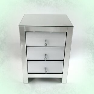 Rosdorf Park Prince 3 Drawer Nightstand