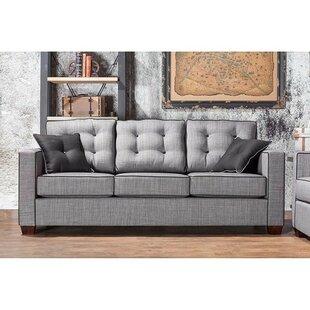 Brayden Studio Palmer Square Standard Sofa