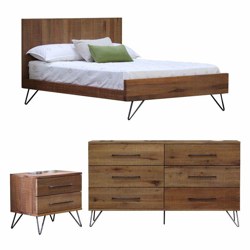 Austin Platform Configurable Bedroom Set