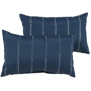 Balentine Outdoor Lumbar Pillow (Set of 2)