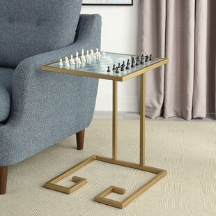 18 Newton Checkers Table by Carolina Cottage