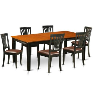 Loraine 7 Piece Dining Set by Red Barrel Studio Best Choices