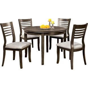 Coleraine 5 Piece Dining Set Red Barrel Studio