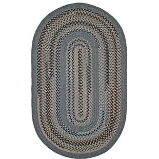Lyons Pebble Beach Gray Indoor/Outdoor Area Rug