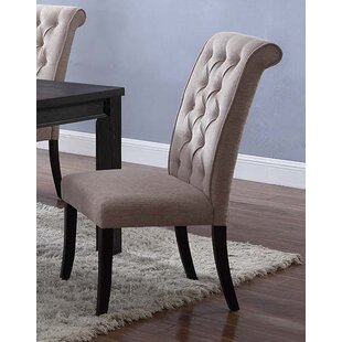 Sibert Upholstered Dining Chair (Set of 2) Charlton Home