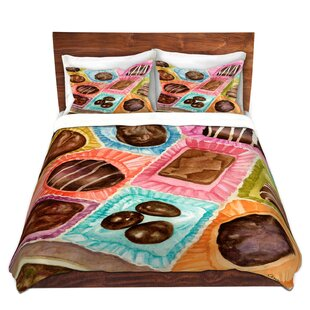 Matus Anne Gifford Box Chocolate Microfiber Duvet Covers