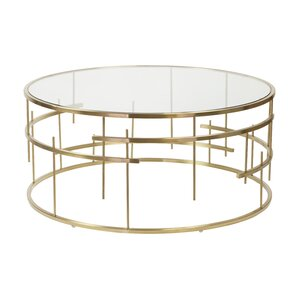 Esme Brushed Coffee Table by Design Tree Home