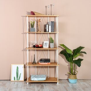 Axbridge 5 Tiers Wood Etagere Bookcase by Ebern Designs
