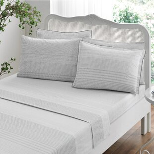 Stripes 100% Cotton Duvet Cover Set
