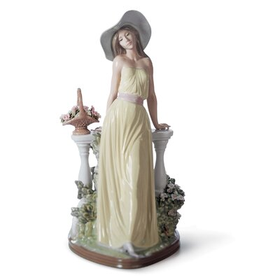 Time for Reflection Woman Figurine Lladro -  01005378