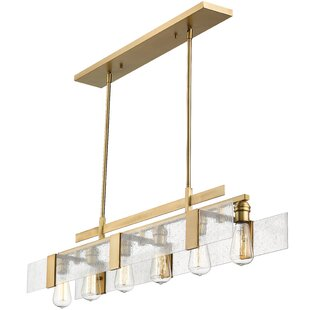 Kristopher 6-Light Kitchen Island Pendant By Orren Ellis