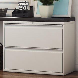 Symple Stuff Frasher 2 Drawer Lateral Filing Cabinet