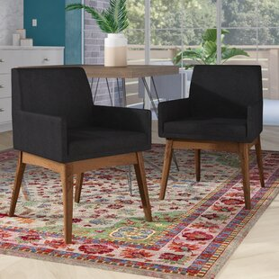 Stallman Upholstered Dining Chair (Set of 2) Brayden Studio