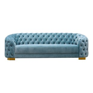 Read Reviews Plains Chesterfield Sofa by Everly Quinn Reviews (2019) & Buyer's Guide